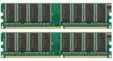 KIT RAM 2GB (2x 1Gb) 400MHZ MEMORIA DESKTOP 184PIN DDR 400 PC3200 LOW DENSITY