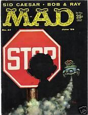 MAD MAGAZINE #47 (JUNE 1959) VERY FINE