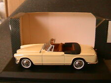 BMW 503 CABRIOLET 1959 DETAILCARS 254 1/43 CREME CREAM GERMANY DEUTSCHLAND RFA