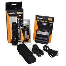 Fenix TK22 Cree LED 650 Lumen Tactical Flashlight Kit w/ ARB-L2 Battery & ARE-C1
