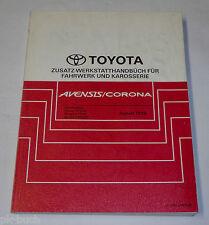 Werkstatthandbuch Toyota Avensis / Corona Karosserie / Getriebe / Klima, 08/1999