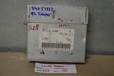 1992 ISUZU Trooper Engine Control Unit ECU 16168436 Module 39 6I3