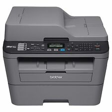 Brother - MFC-L2705DW Wireless Black-and-White All-in-One Laser Printer - Gray