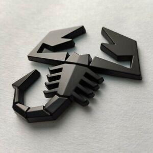 Schwarz 3D Metall Skorpion Abzeichen Emblem für Ssangyong Korando Musso Tivoli