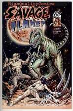 SAVAGE PLANET #1, NM, Dan Parson, Dinosaur, Sci-fi, more indies in store