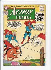 Action Comics #277 (1961) FN Superman, Supergirl, Lex Luthor, Krypto & Streaky!!