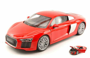 Model Car Scale 1:18 Welly Audi R8 V10 diecast vehicles road Coche