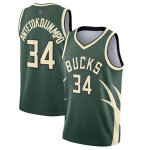 Mens Milwaukee Bucks Earned Edition Swingman Jersey - Giannis Antetokounmpo