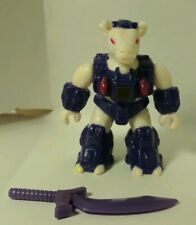 BATTLE BEASTS Series #3 Bodacious Bovine W Weapon and Rub (Fire)