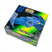 Star Wars Power of The Force 1996 Darth Vader's Tie Fighter with Laser Cannons