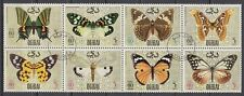 Dubai 1968 Mi.295/02 Zdr. perf.11 fine used c.t.o. Schmetterlinge Butterflies