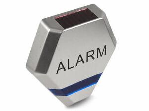 Dummy Alarm Bell Box - Dummy Burglar Alarm Bell Box - Solar Powered LED Lights