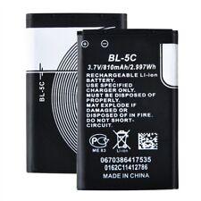 810mAh BL-5C Battery For Nokia N70 N91 N72 E60 1100 3110 3650 7600 1600 Phone