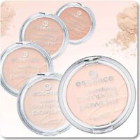 Essence Mattifying Compact Powder Professional Make-Up Texture Natural 4 Shades