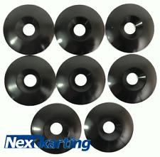Kart Alloy CSK 30 x 5 x 8mm Seat Washers M8 Black  x 8 - NextKarting