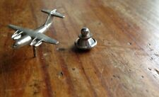 WWII VIETNAM ERA DIE CAST AREOPLANE LAPEL COLLAR  BADGE