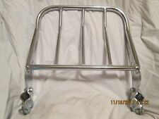 Chrome Luggage Rack Only May fit some Harley or Aftermarket Sissy Bars
