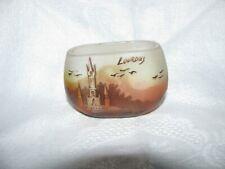 "Petit vase ancien signé Peynaud ""Lourdes"""