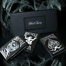 Bicycle Black Black Legacy Boxed Set by Ellusionist Poker Playing Cards+