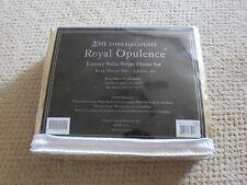 King Size Duvet Set - 230 thread count Royal Opulence Luxury Satin Stripe