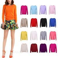 Cashmere Sweater cardigan Unisex  Womens Jumper Thin Wool pullover NEW Size TATA