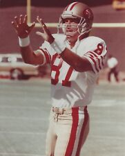 DWIGHT CLARK 8X10 PHOTO SAN FRANCISCO FORTY NINERS 49ers PICTURE NFL FOOTBALL