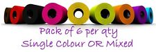 Coloured Toilet Paper Black,Purple,Pink,Blue,Lime,Yellow,Orange,Red,Choc-6 Pk BL