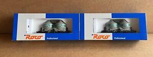 Roco H0 2x 47563 - 2 Staubgutwagen Kds 54 der SCHWARZ-BAU Sonderserie NEU!