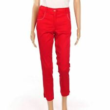Pantaloni da donna rosso taglia 40