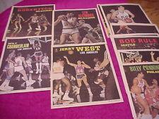 Topps Basketball Posters set 1970 (24 complete)Alcindoer