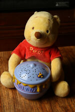 Winnie the Pooh Dreamy Stars Soother Light Projector Works Disney Baby Cloud B