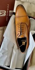 $450 NEW BRUNO MAGLI Mens Dress Shoe Leather Lace Up Oxfords, NWB Size 9
