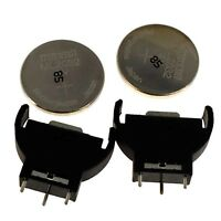Lot (2 / 10) Maxell 3V ML2032 + Battery Holder to replace Dreamcast CMOS battery