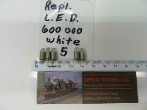 HO - Marklin 600000 LED Replacement - Set of 5 - NEW
