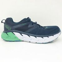 Hoka One One Mens Gaviota 2 1099629 MOBI Blue Green Running Shoes Size 10.5