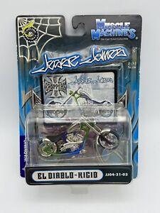 Muscle Machines Jesse James El Diablo Rigid Blue/Green FREE SHIPPING
