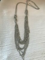 """Round Tubular 18-20/"""" Antiqued Bronze Mesh 3mm Necklace Chain for Charm Beads"""