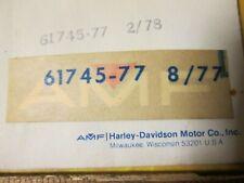 Harley Shovelhead Flathead Panhead Sportster NOS OEM AMF Decal