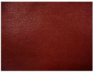 DCG Stores Softline Red Leather Look Futon Cover Twin Size - Sided Zipper - EUC