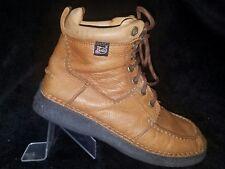 Justin Men's Lace Up Tan Boots Size 8.5 medium!