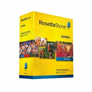 Rosetta Stone Spanish (Latin America) Level 1-5 Set (new) Unopened