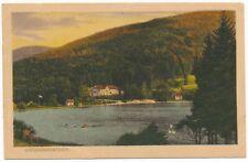 Ansichtskarte vom Wiesenbekerteich in Bad Lauterberg