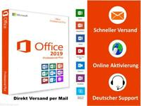 Office 2019 Pro Professional Plus Key | Direkt Versand per E-Mail