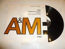 LONI - Sentence of love - 1992 UK 4-track 12 Vinyl Single - DJ PROMO