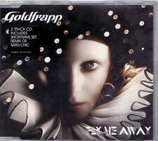 Goldfrapp - Fly Me Away/Satan Chic (Bombay Mix) (CD, 2006, Mute) LIKE NEW