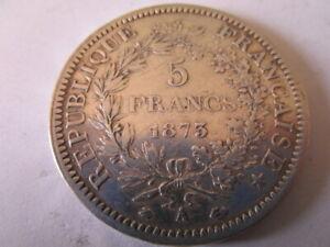 5 FRANCS ARGENT 1873 A.