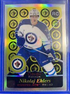 2015-16 OPC Platinun Retro Rainbow Rookie #R80 Nikolaj Ehlers Winnipeg Jets RC