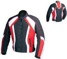 Giacca jacket  da per moto in cordura rossa HONDA S 46 M 48 L 50 XL 52 XXL 54