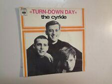 "CYRKLE: Turn-Down Day + 3-France 7"" 1965 CBS Records Inc. EP 5994 Original PCV"