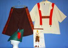 Lederhosen Costume-Mens XL;German;Bavarian;Oktoberfest;Alpine;Leg Avenue-4 piece